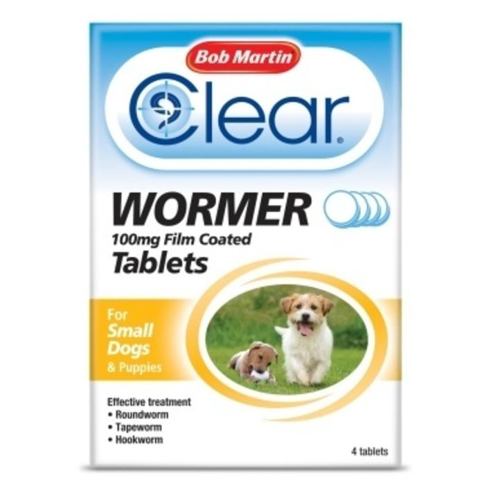 Bob Martin Clear Wormer Tablets for Small Dogs