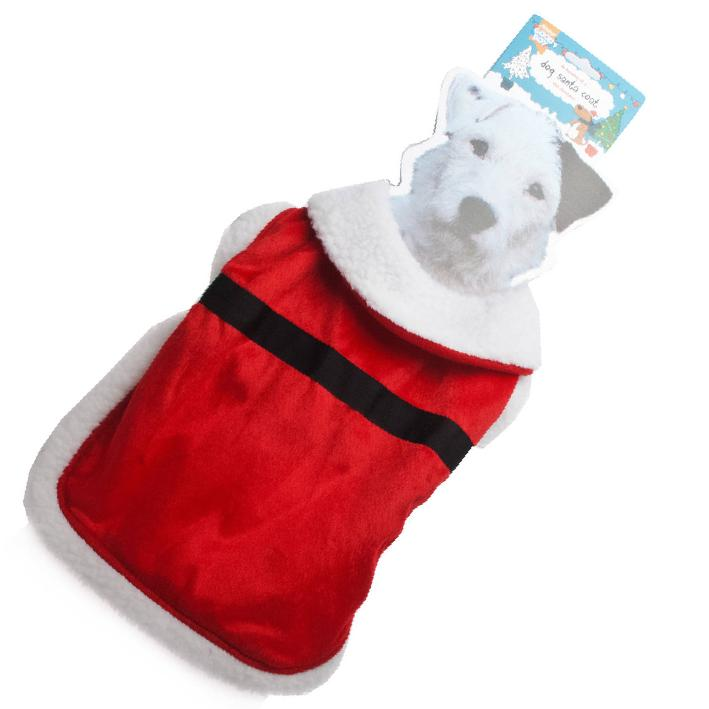 Good Boy Santa Coat for Dogs