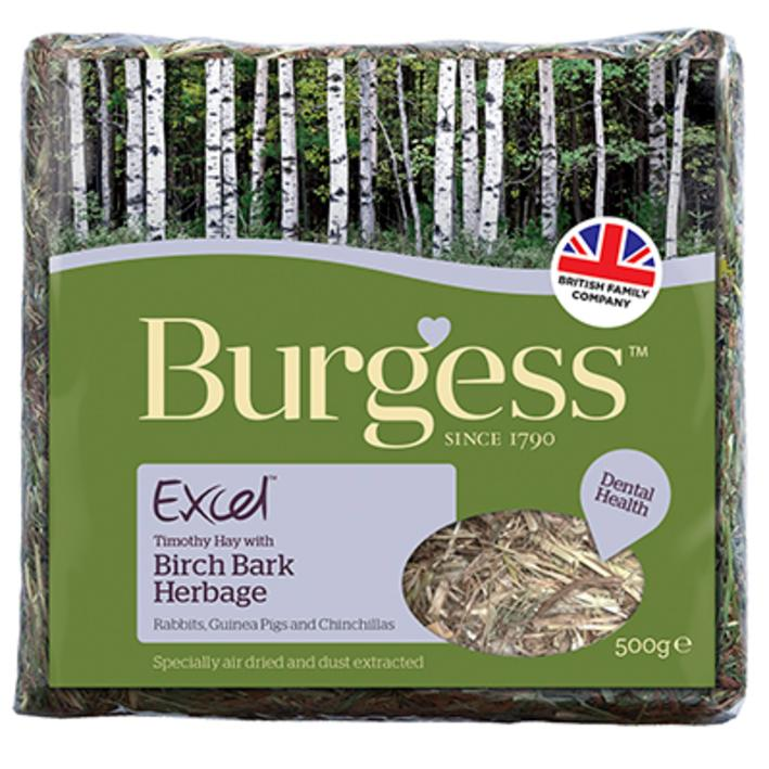 Burgess Excel Birch Bark Herbage 500gm