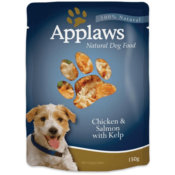 Applaws Dog Food Pouches Chicken with Salmon and Kelp