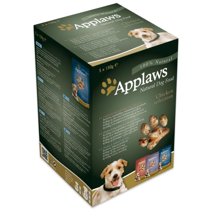 Applaws Dog Food Pouches Chicken Selection 5 x 150gm