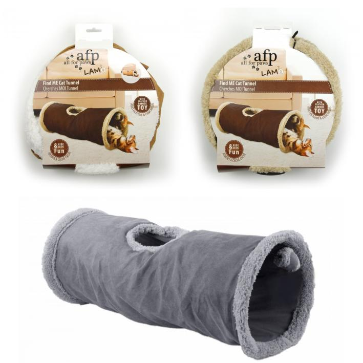 All for Paws Lamb Find Me Cat Tunnel