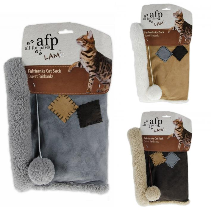 All for Paws Lamb Fairbanks Cat Sack (Assorted)