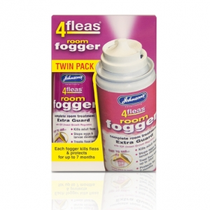 Johnsons 4Fleas Room Fogger Twin Pack