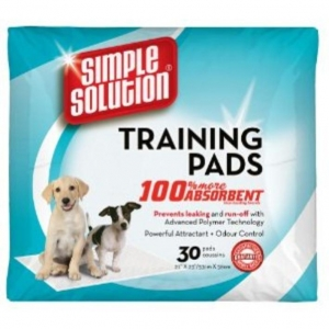 Simple Solution Training Pads 30s