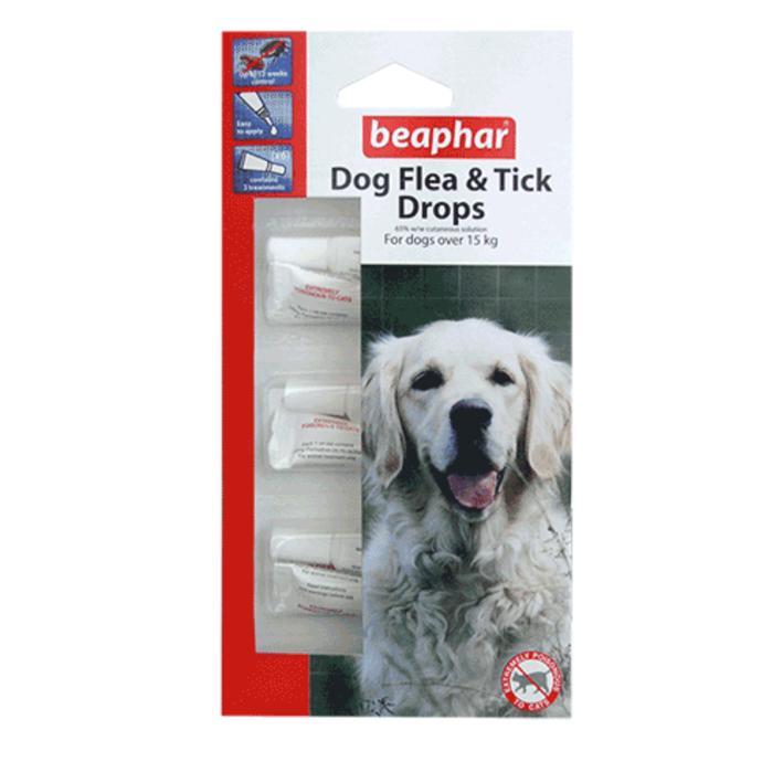 BEaphar Flea and Tick Drops Large Dog 12 Week