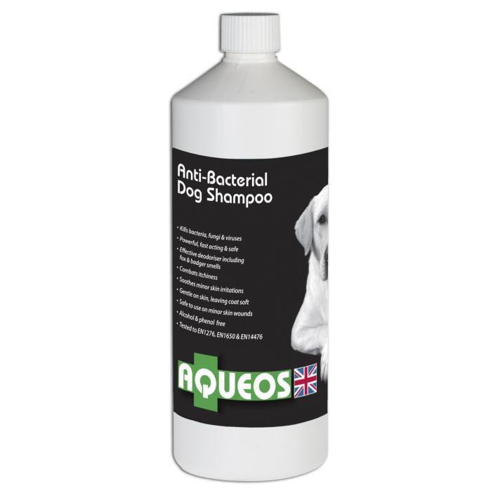 AQUEOS Antibacterial Dog Shampoo