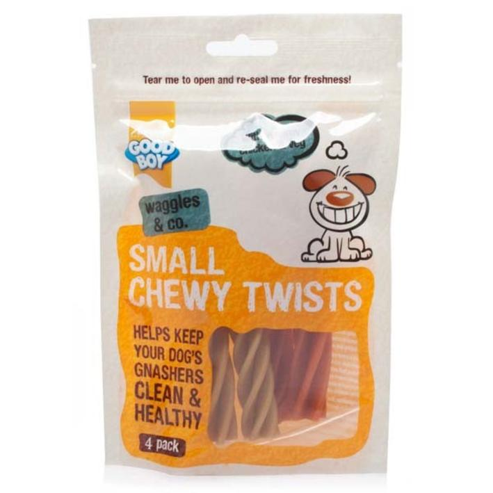 Good Boy Pawsley and Co Small Chewy Twists 75gm 4pcs