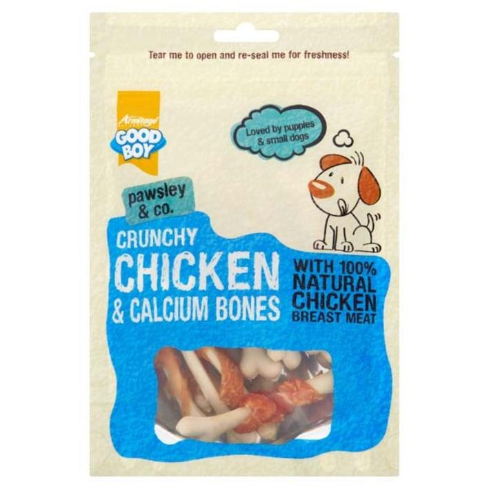 Good Boy Pawsley and Co Crunchy Chicken and Calcium Bones