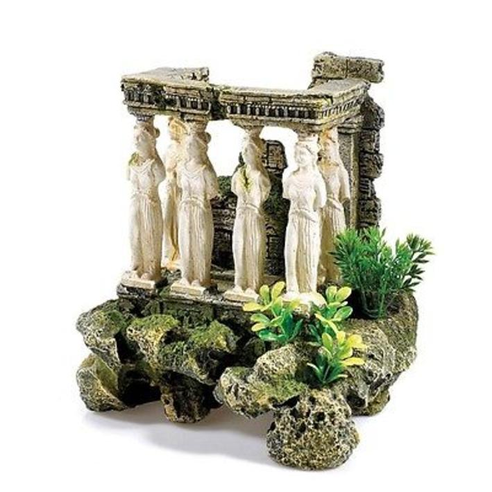 Classic Roman Maidens with Plants and Air