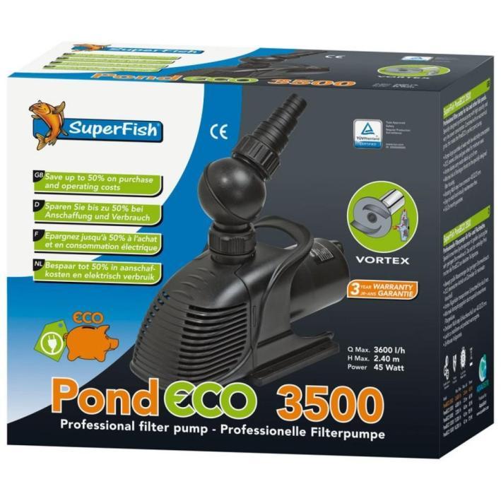 Superfish Pond Eco Pump 3500
