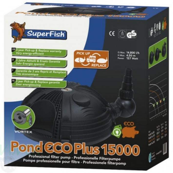 Superfish Pond Eco Plus Pump 15000