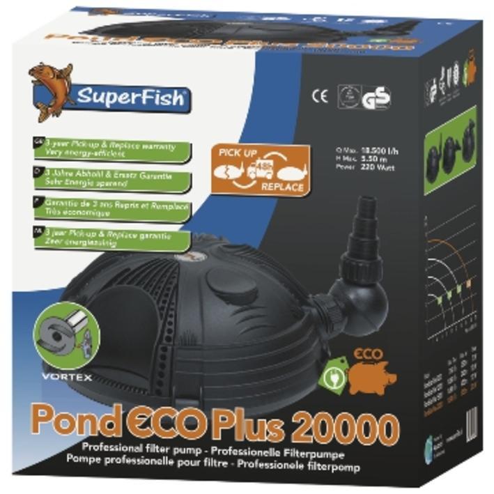 Superfish Pond Eco Plus Pump 20000