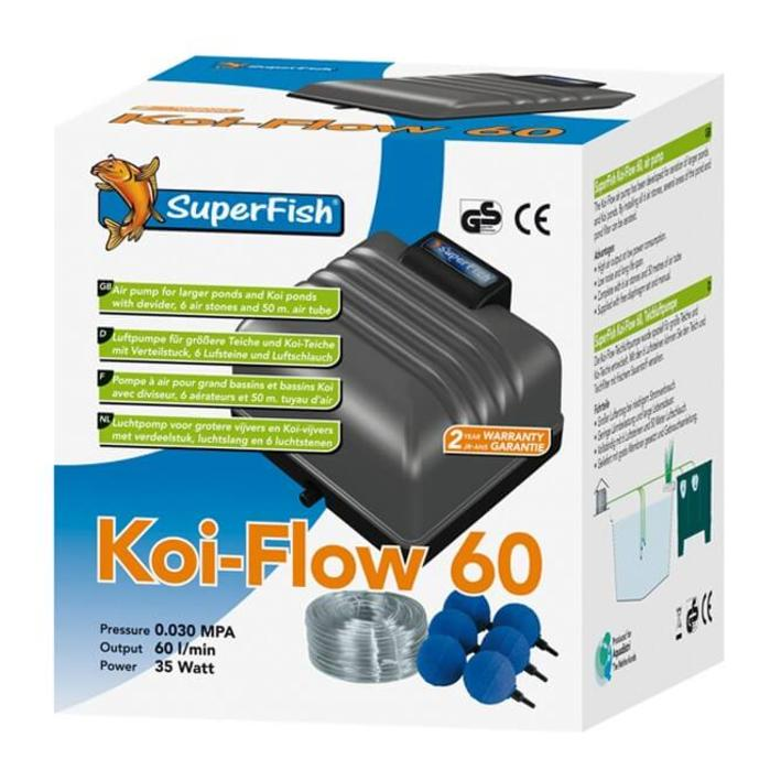 Superfish Koi Flow 60 Air Pump