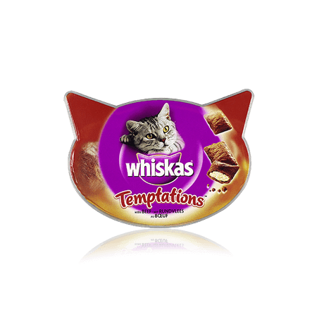 Whiskas Temptations with Beef