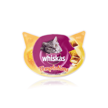 Whiskas Temptations with Chicken and Cheese
