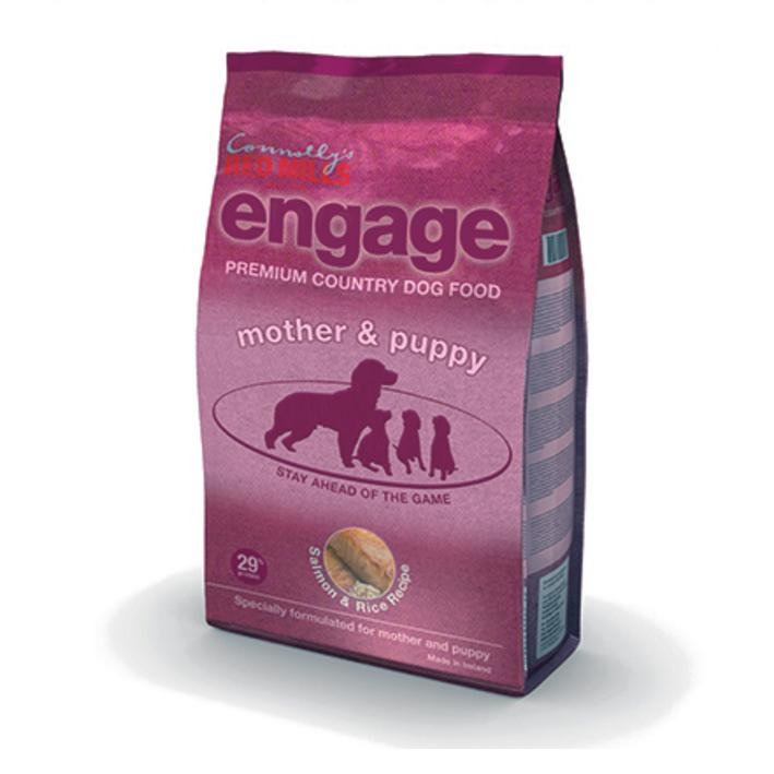 Red Mills Engage Mother and Puppy Food with Salmon and Rice 15kg VAT FREE