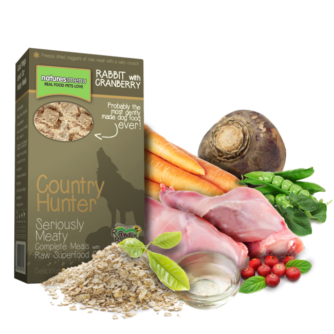 Natures Menu Country Hunter Superfood Crunch Rabbit
