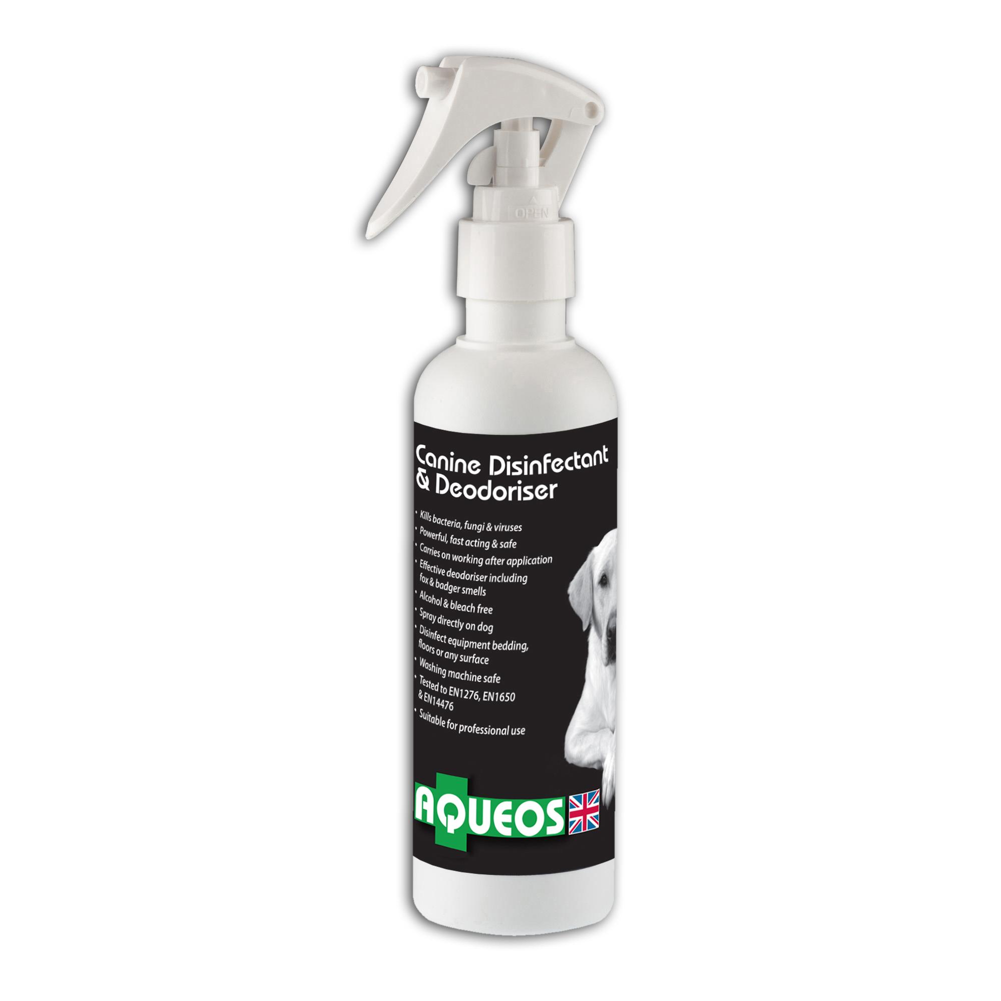 AQUEOS Disinfectant and Deodoriser Spray 200ml