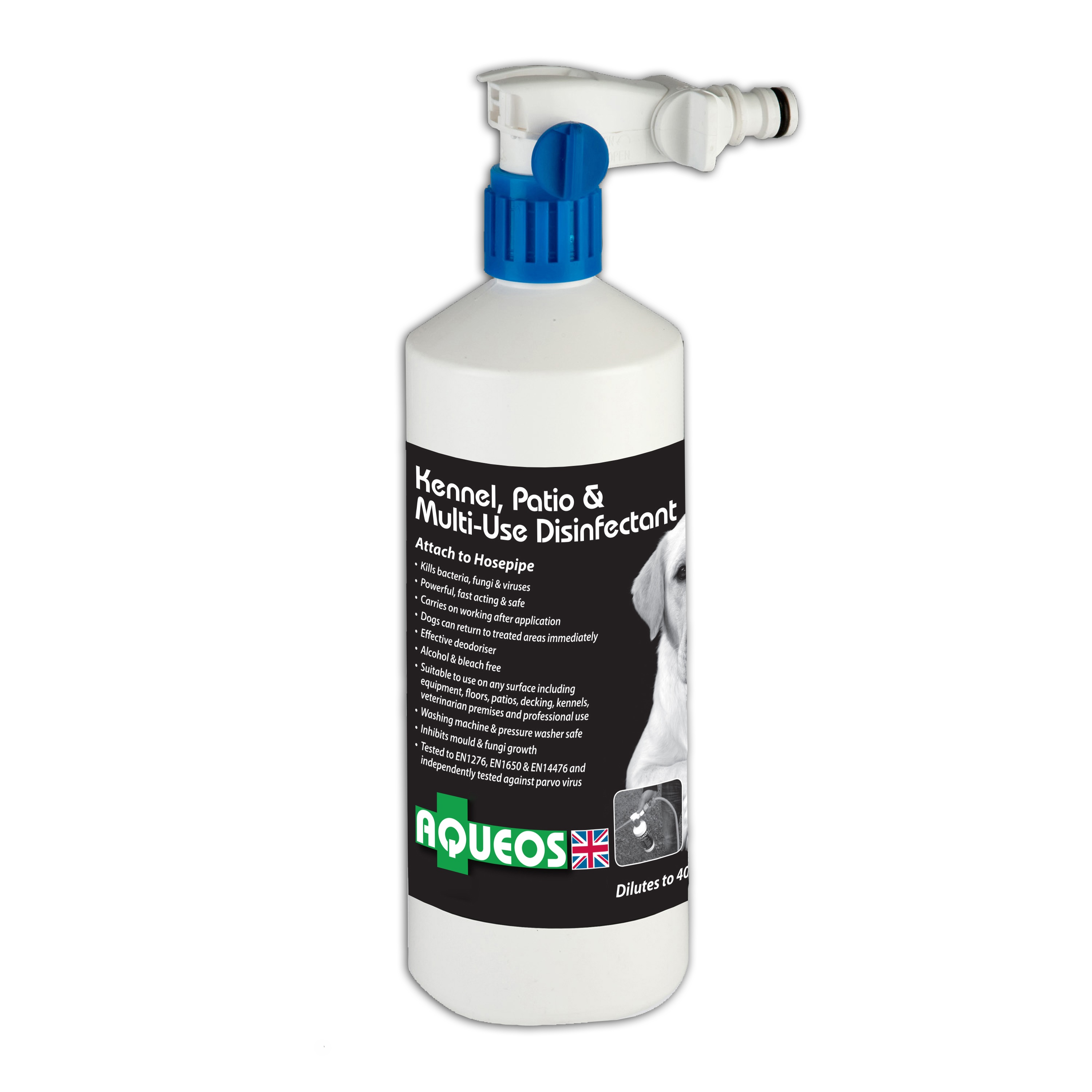 Aqueos Kennel and Patio Disinfectant