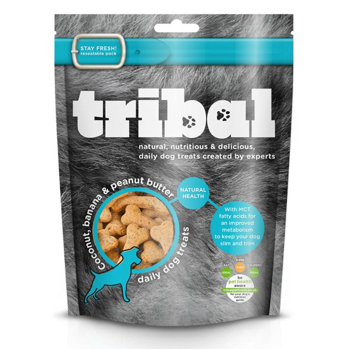 Tribal Dog Treats with Coconut Banana and Peanut Butter