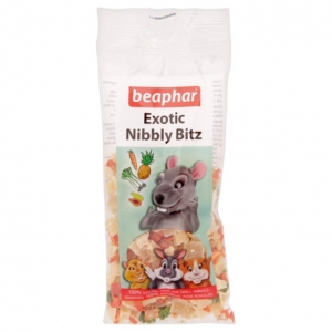 Beaphar Exotic Nibbly Bitz 50gm