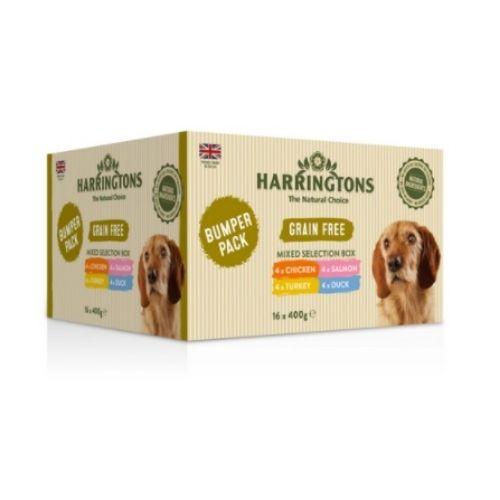 Harringtons Mixed Selection Box Bumper Pack 16x400g