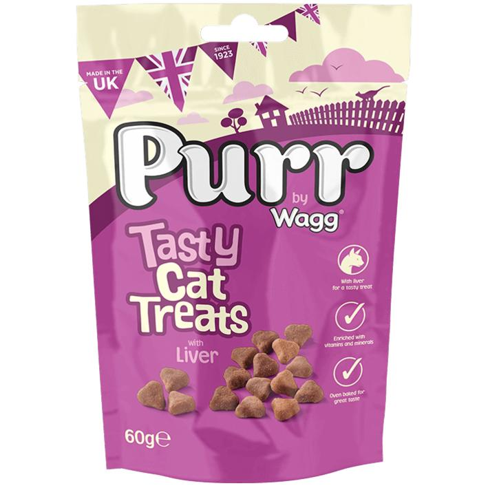 Wagg Purr Cat Treats with Liver