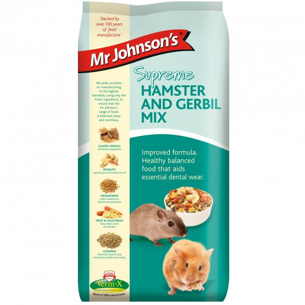 Mr Johnsons Supreme Hamster and Gerbil Mix