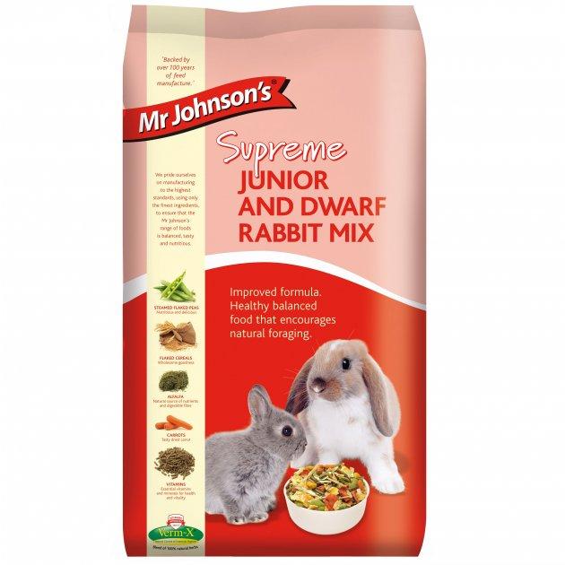 Mr Johnsons Supreme Junior and Dwarf Rabbit Mix