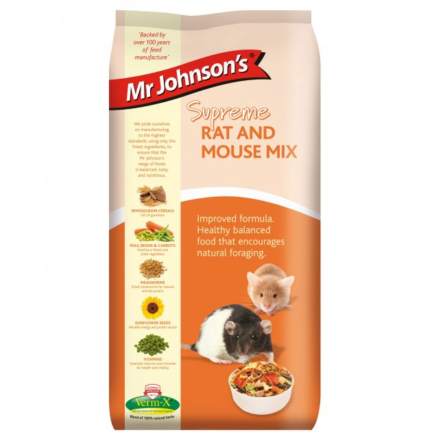 Mr Johnsons Supreme Rat and Mouse Mix