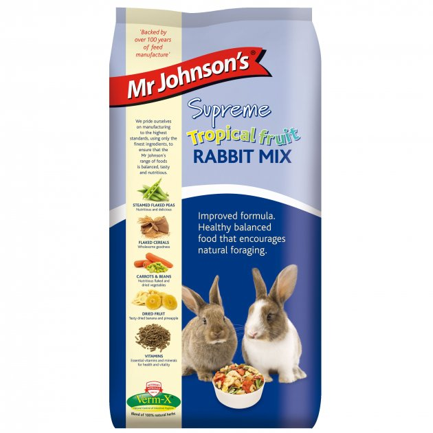 Mr Johnsons Supreme Rabbit Mix with Tropical Fruit