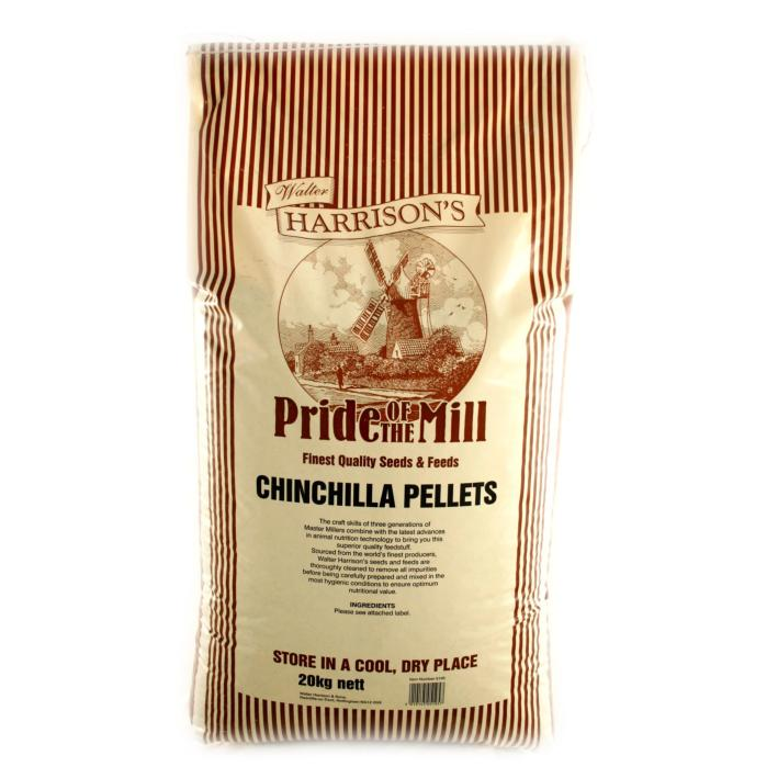 Walter Harrisons Chinchilla Pellets