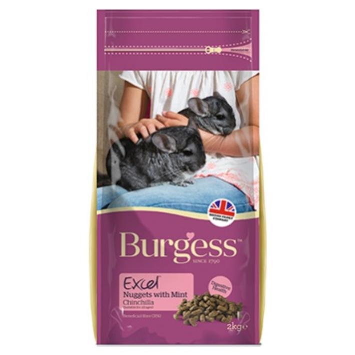 Burgess Excel Chinchilla Nuggets with Mint