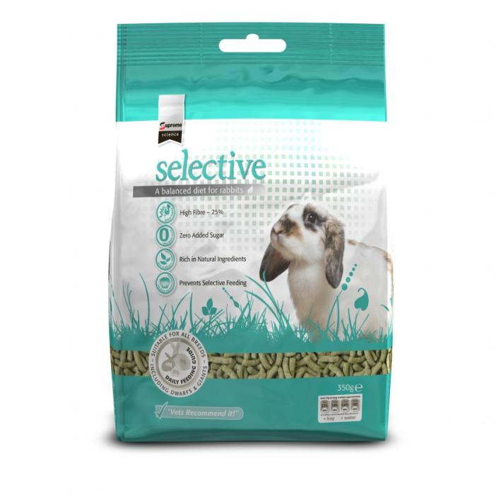 CLEARANCE Supreme Science Selective Rabbit Food 1.5kg VAT FREE