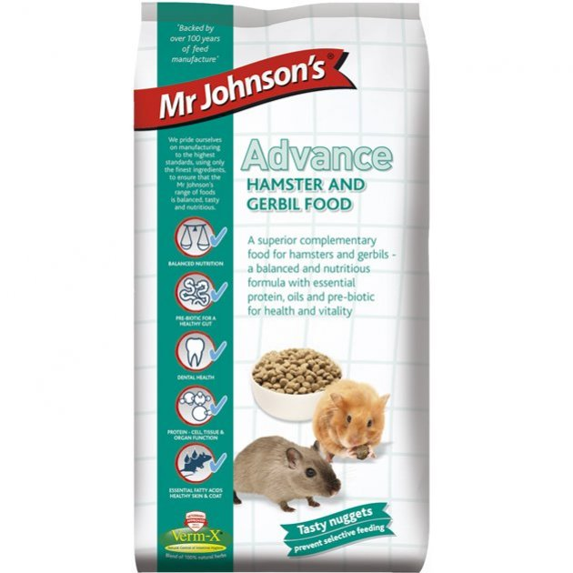 Mr Johnsons Advance Hamster and Gerbil Food