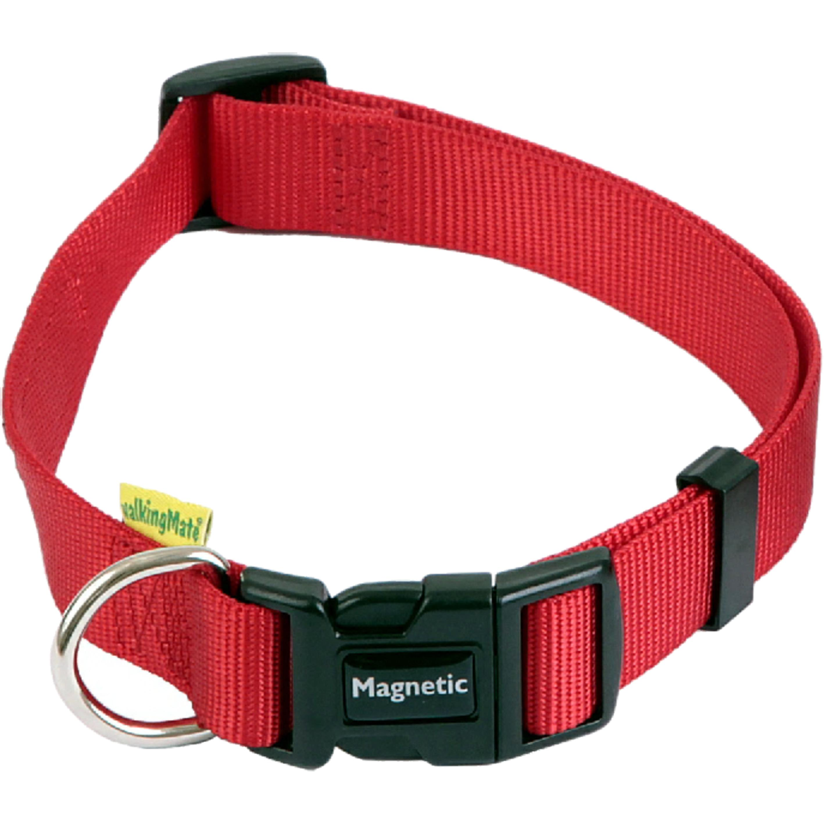 Animate Magnetic Dog collar Red