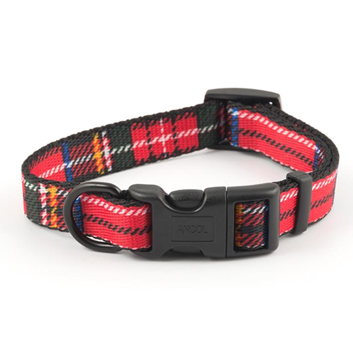 Tartan Dog Collars And Leads