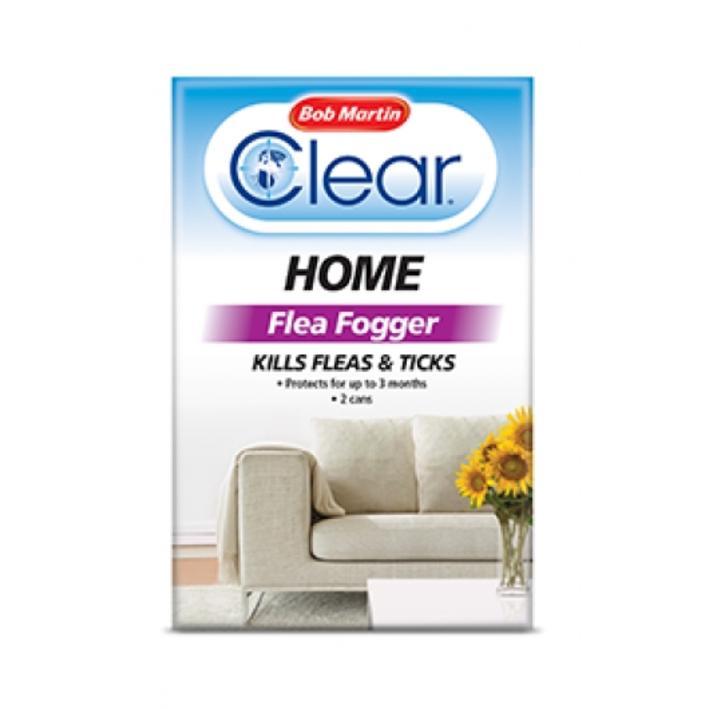 Bob Martin Clear Home Flea Fogger 2pk