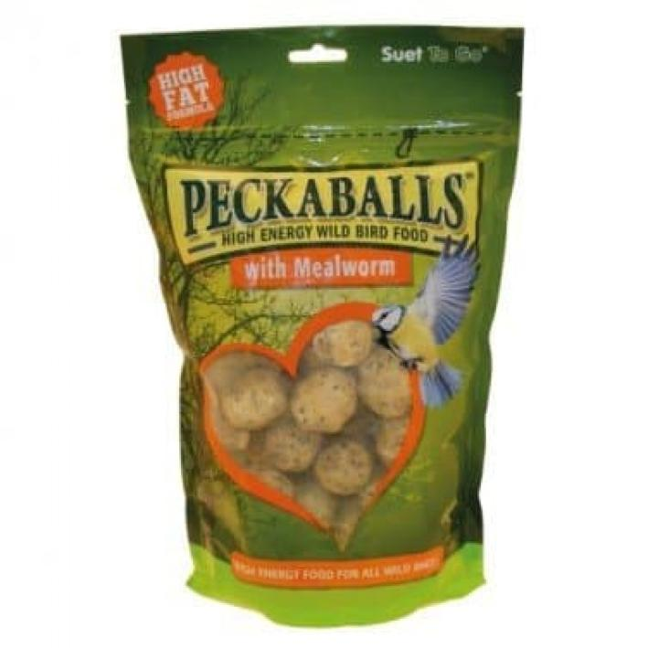Suet to Go Peckaballs with Mealworms 1kg