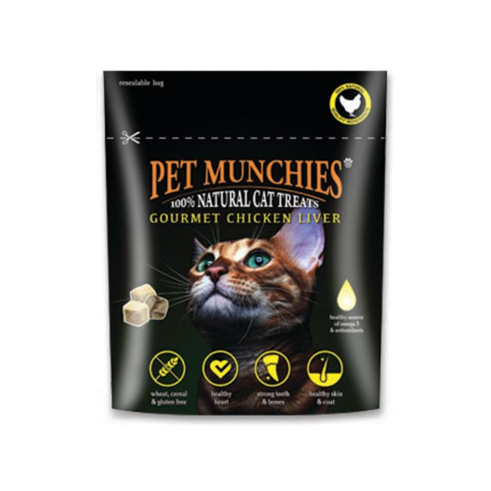 Pet Munchies Cat Treats with Chicken Liver