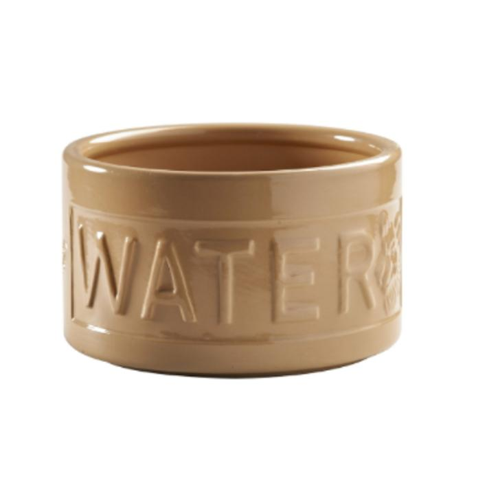 mason cash lettered dog water bowl cane 15cm x 9cm purely pet