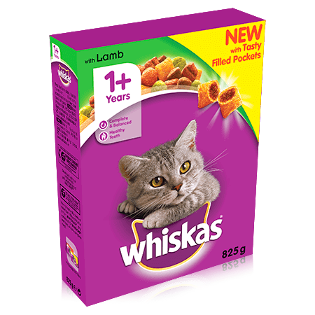 Whiskas Cat Food with Lamb