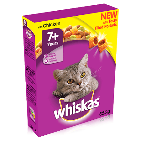 Whiskas Senior Cat Food with Chicken