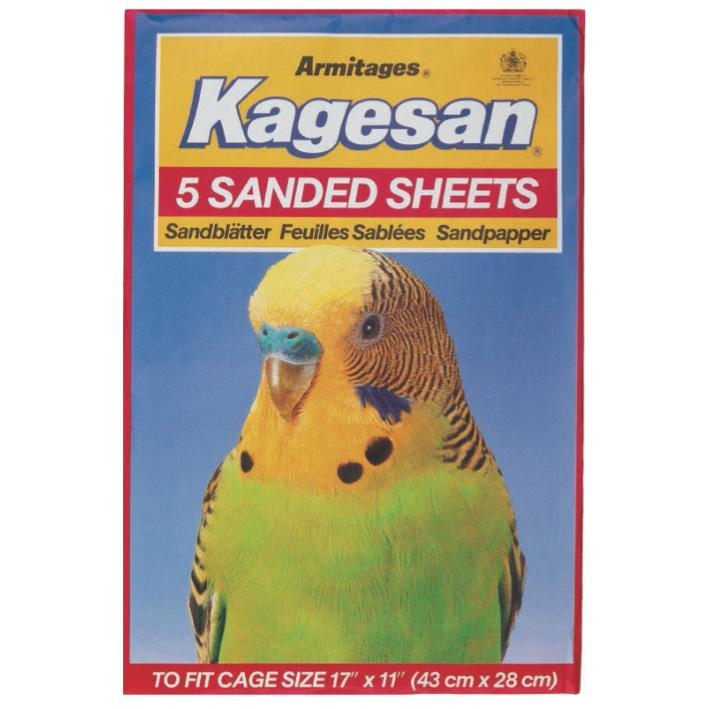 Kagesan Sanded Sheets Red