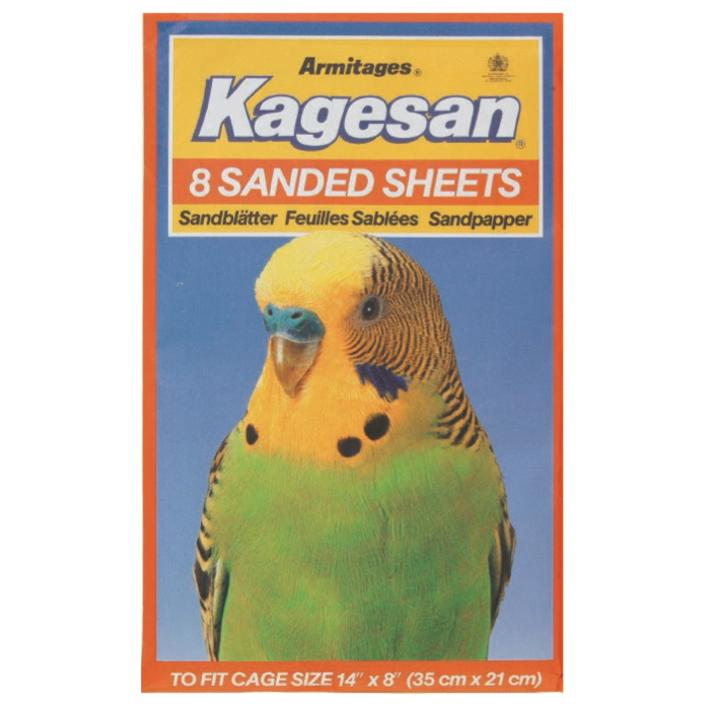 Kagesan Sanded Sheets Orange