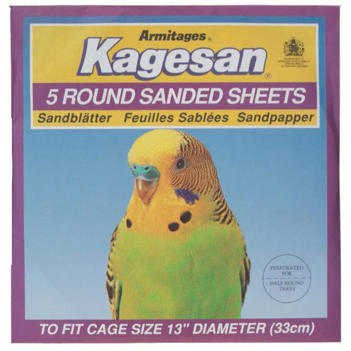 Kagesan Sanded Sheets Purple Round