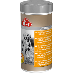 8 in 1 Vitality Multi Vitamins for Adult Dogs
