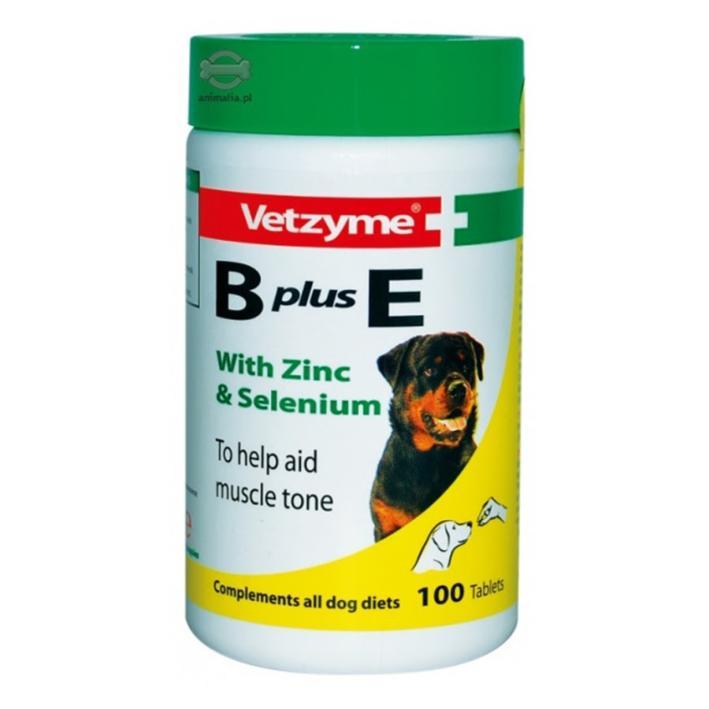 Vetzyme B Plus E Tablets