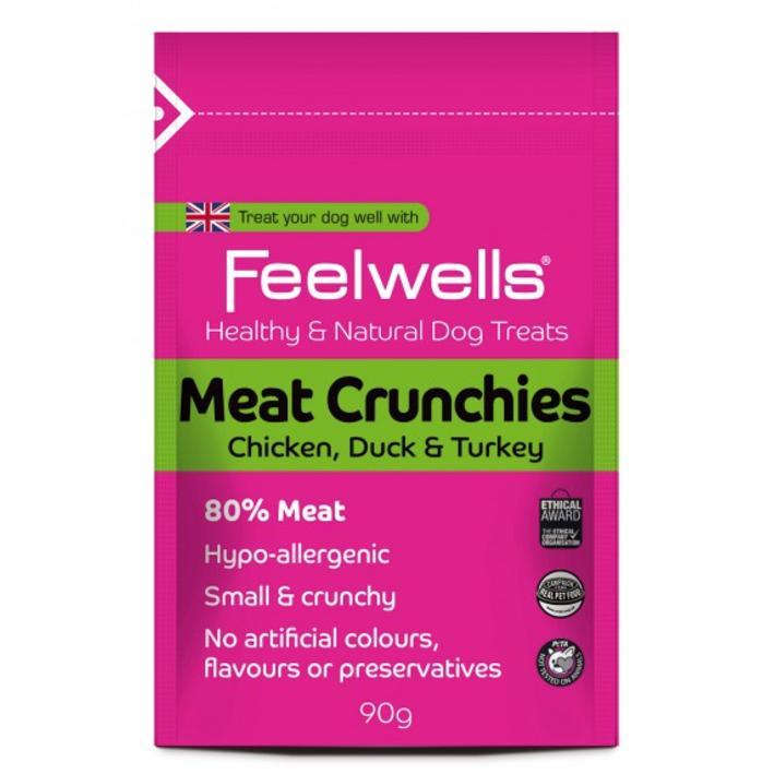 Feelwells Meat Crunchies 90g
